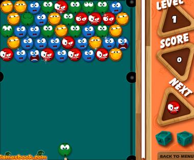 Бильярд шарики онлайн играть бесплатно