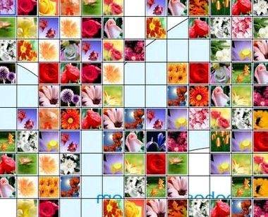 Цветочный маджонг играть онлайн бесплатно