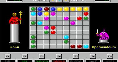 Игра цветные линии шарики играть бесплатно