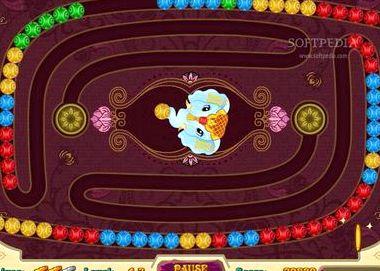Игра индийский слон шарики зума