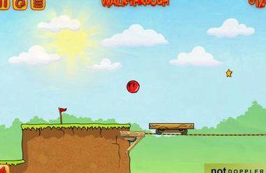 Игра красный шарик 3 играть бесплатно