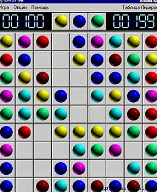 Игра шары 98 линий