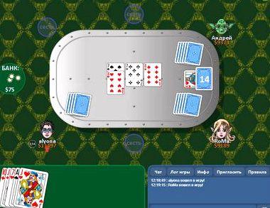 Игра в карты переводной дурак бесплатно