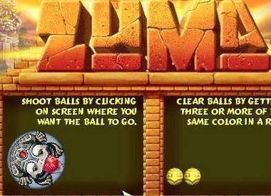 Игра волшебные шарики зума