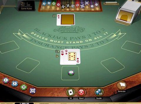 Играть блэкджек бесплатно доступно от четырех