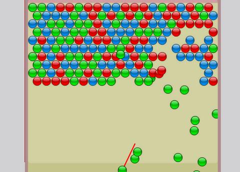 Играть онлайн синий шарик Играть на весь экран
