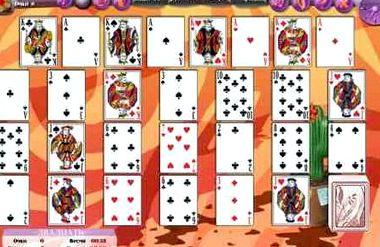 Играть пасьянс двадцать