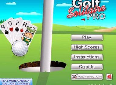 Играть пасьянс гольф