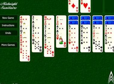 Игры пасьянс косынка по три карты