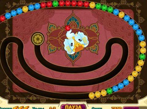 Индийские волшебные шарики играть онлайн бесплатно нарастающую сложность прохождения