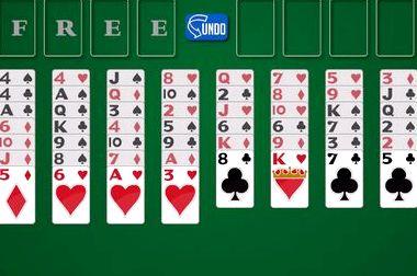 Карточный пасьянс солитер играть прямо