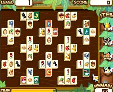 Маджонг джунгли играть онлайн бесплатно