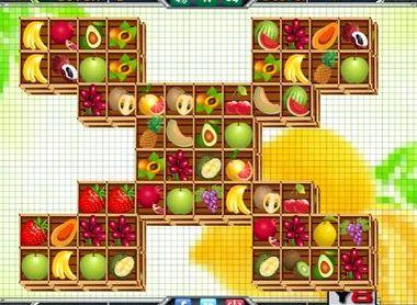 Маджонг фрукты во весь экран играть бесплатно