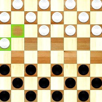 Мини игры шашки играть онлайн фишек, которые разделены