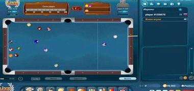 Настольный бильярд играть онлайн бесплатно
