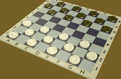Как расставляют шашки
