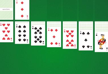 Пасьянс косынка по 3 карты играть бесплатно