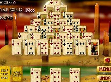 Пасьянс пирамида солитер играть бесплатно