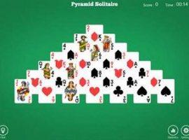 Пасьянс тройная пирамида
