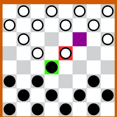 Правила игры в шашки обычные