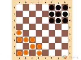 Правила игры в уголки на шахматной доске
