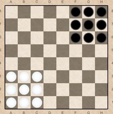 Правила игры в уголки шашки переместили все свои шашки
