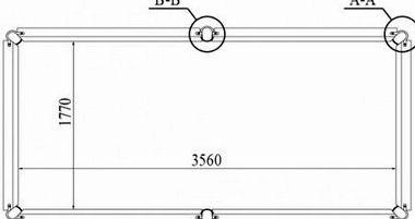 Размеры бильярдных столов для русского бильярда