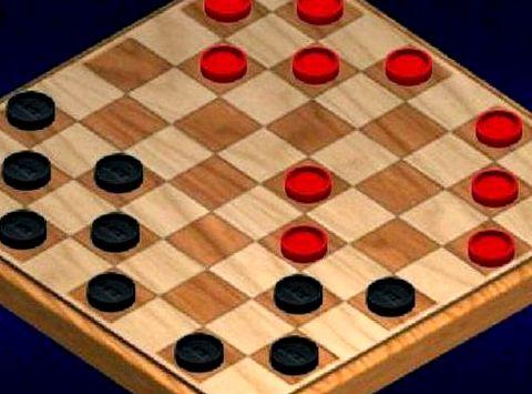 Шашки играть онлайн на 2 игрока темных клеток, которые чередуются друг