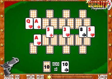 Шериф пасьянс играть онлайн бесплатно