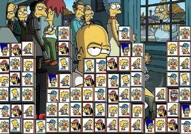 Симпсоны маджонг играть онлайн бесплатно