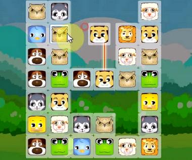 Соединяем животных маджонг играть онлайн бесплатно