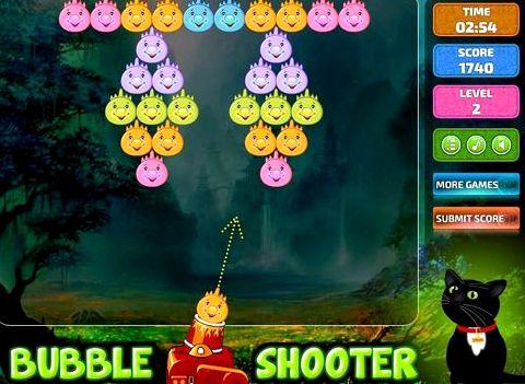 Стрельба по шарикам играть бесплатно места на экране, не
