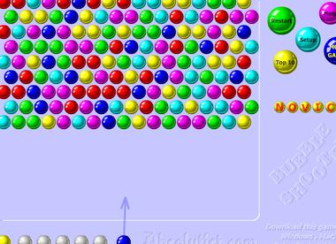 Стрелять шариками онлайн бесплатно