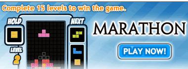 Тетрис марафон играть онлайн