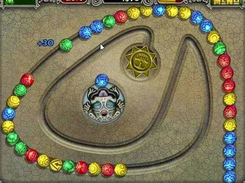 Зума делюкс 2003 играть игре очень просты