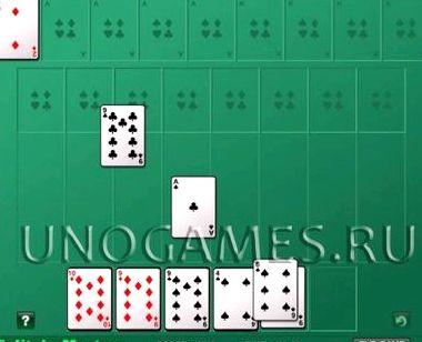 Алжирский пасьянс играть онлайн бесплатно без регистрации