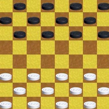 Английские шашки правила игры