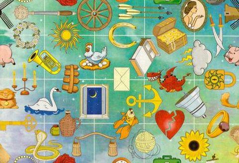 Астрологический пасьянс гадание бесплатно Флажки  смена вида деятельности, профессии