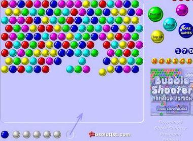 Баблс шарики играть онлайн