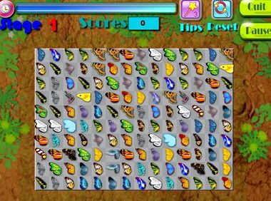 Бабочка маджонг во весь экран бесплатно онлайн