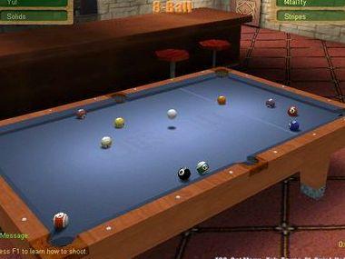 Бильярд 3д играть онлайн