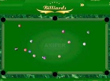 Бильярд играть на 2 игрока