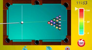 Бильярд совершенный играть бесплатно во весь экран