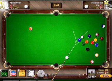 Бильярд восьмерка онлайн играть бесплатно в одноклассниках