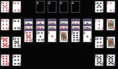 Пасьянс чередование играем карты онлайн казино вулкан заблокирован