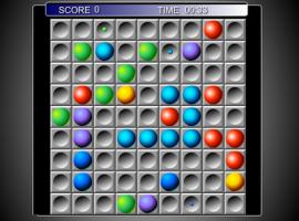 Цветные линии шарики 98 играть онлайн