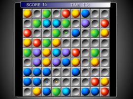 Цветные линии шарики 98