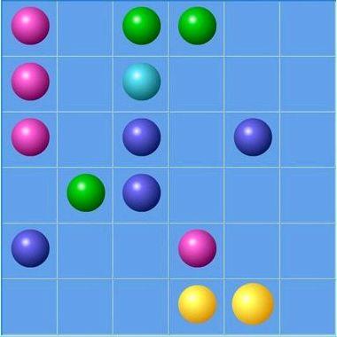 Цветные шарики играть онлайн бесплатно
