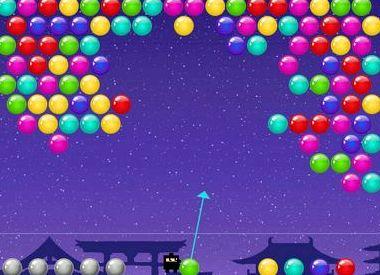 Детская игра шарики стрелялки онлайн
