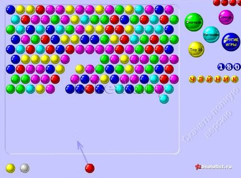шарики играть флэш онлайн